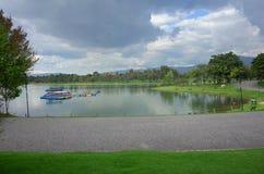 Parque Simon Bolivar, Bogota arkivbild