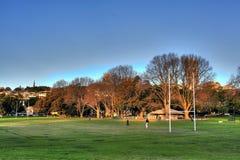 Parque Sydney de la bahía de Rushcutters Imágenes de archivo libres de regalías