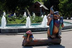 Parque temático de Bucarest Fotos de archivo libres de regalías