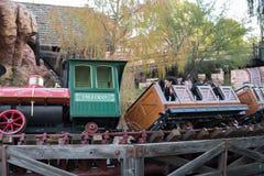 Parque temático de Disneyland Resort em Anaheim, Califórnia fotografia de stock royalty free
