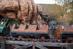 Parque temático de Disneyland Resort em Anaheim, Califórnia imagens de stock royalty free