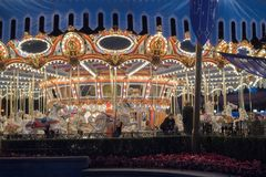 Parque temático de Disneyland Resort em Anaheim, Califórnia imagem de stock