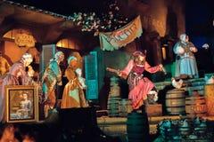 Parque temático de Disneyland Resort em Anaheim, Califórnia imagem de stock royalty free