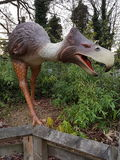 Parque temático Dino Trail del señorío de Drayton Fotos de archivo libres de regalías