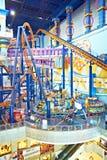 Parque temático en alameda de compras del Times Square de Berjaya Imagenes de archivo