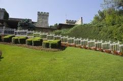 Parque temático Gardaland foto de archivo libre de regalías