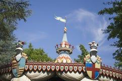 Parque temático Gardaland fotografía de archivo
