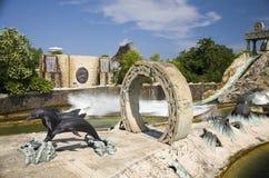 Parque temático Gardaland imagen de archivo