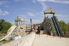 Parque temático Gardaland fotos de archivo