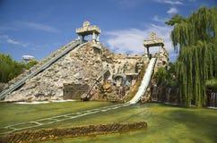 Parque temático Gardaland foto de archivo