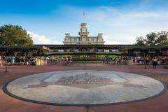 Parque temático mágico del reino Imagenes de archivo
