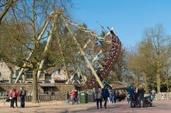 Parque temático o Efteling nos Países Baixos fotografia de stock