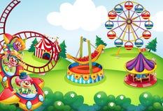 Parque temático Imagem de Stock Royalty Free
