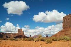 Parque tribal de Navajo del valle del monumento fotografía de archivo