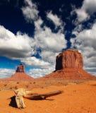 Parque tribal de Navajo del valle del monumento en Utah Fotos de archivo