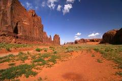 Parque tribal do Indian de Navajo do vale do monumento Fotos de Stock Royalty Free
