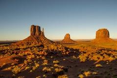 Parque tribal do Navajo do vale do monumento fotografia de stock