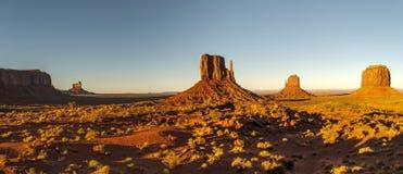 Parque tribal do Navajo do vale do monumento fotos de stock