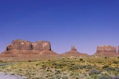 Parque tribal do vale do monumento Foto de Stock Royalty Free