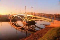 Parque Tsaritsyno de Moscovo Fotografia de Stock Royalty Free