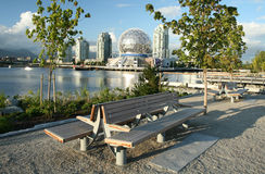 Parque urbano vibrante Imagem de Stock