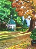 Parque verde Fotografía de archivo