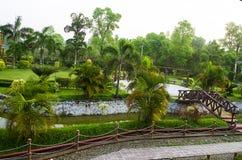Parque verde Fotografia de Stock