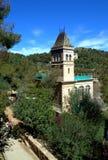 Parque verde, Barcelona Foto de Stock Royalty Free