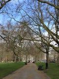Parque verde en Londres Foto de archivo libre de regalías