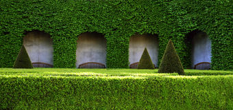 Parque verde hermoso Fotografía de archivo libre de regalías