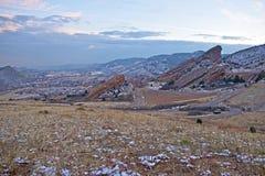 Parque vermelho Colorado das rochas fotos de stock