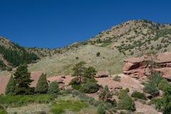 Parque vermelho Colorado de Rocls Imagem de Stock Royalty Free