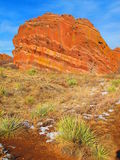Parque vermelho das rochas Fotos de Stock Royalty Free