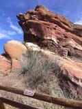 Parque vermelho das rochas imagens de stock royalty free