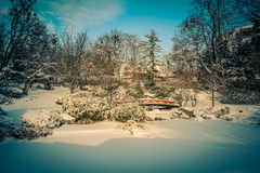 Parque Viena de Setagaya Foto de archivo libre de regalías