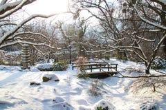 Parque Viena de Setagaya Foto de archivo