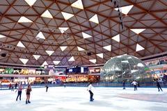 Parque y alameda del hielo de Eilat en Eilat Israel Foto de archivo libre de regalías