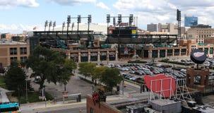 Parque y Ford Field de Comerica en Detroit 4K
