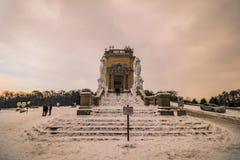 Parque y lugar Schönbrunn Viena Fotografía de archivo