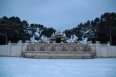 Parque y lugar Schönbrunn Viena Foto de archivo libre de regalías
