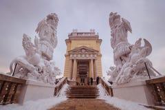 Parque y lugar Schönbrunn Viena Fotos de archivo libres de regalías