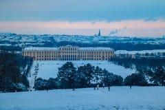 Parque y lugar Schönbrunn Viena Fotos de archivo