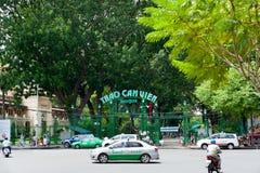 Parque zoológico de Saigon y jardines botánicos Imagen de archivo