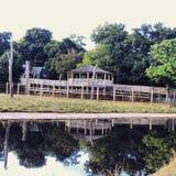 ¡Parque zoológico de Whipsnade! ¡Reflexión! Foto de archivo libre de regalías