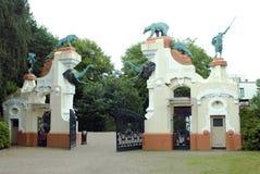 Parque zoológico Hamburgo, Alemania de Hagebecks Foto de archivo