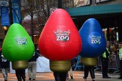 Parque zoológico mágico de Brookfield del día de fiesta Fotografía de archivo libre de regalías