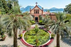 Parquee el jardín de la isla Madre - Isola Madre, Italia Imágenes de archivo libres de regalías