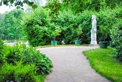 Parques bonitos de Peterhof Imagens de Stock
