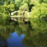 Parques bonitos para a caminhada e o abrandamento Imagens de Stock