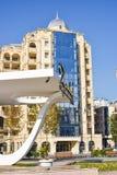 Parques da cidade de Baku Fotografia de Stock Royalty Free